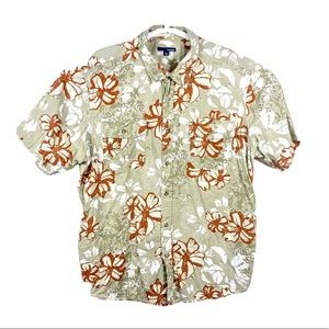 Men's basic editions Hawaiian camp shirt 2XL XXL